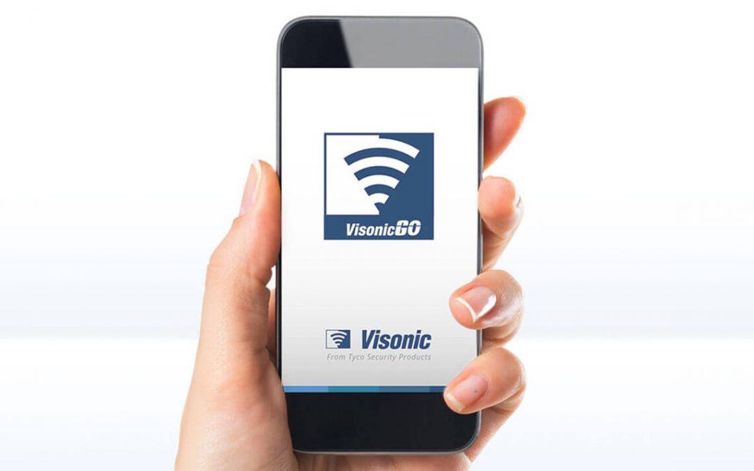 Novo app Visonic-Go